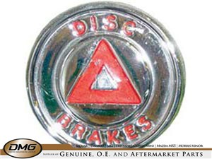 DISC BRAKES BADGE   MK2